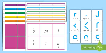 Caterpillar Letters Lower Case Bingo - NZ Literacy Resources, Casey the Caterpillar, lower case letter formation, handwriting, letter ident