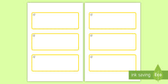 Topaz Themed Editable Drawer-Peg-Name Labels (Blank) - Themed Classroom Label Templates, Resource Labels, Name Labels, Editable Labels, Drawer Labels, Coat Peg Labels, Peg Label, KS1 Labels, Foundation Labels, Foundation Stage Labels, Teaching Labels