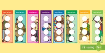 Roal Dahl Bookmarks - Roald Dahl, llyfrnod, darllen ,Welsh