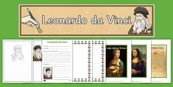 Leonardo da Vinci Resource Pack
