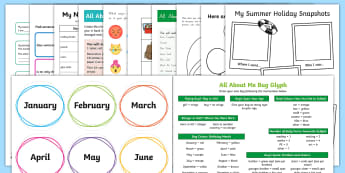 Year 3 First Week Back Activity Pack - New Zealand Back to School, first week, first day at school, first day, nz, new zealand,Australia