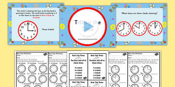 Telling the Time - Boat Trip Times Lesson Pack - ESL Time Lessons