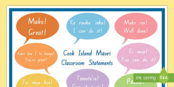Festivals celebrations and events cook islands cook island classroom statements display poster cook island language week language cook m4hsunfo