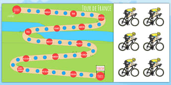 Tour de France Reward Chart - le tour, geography, award, reward