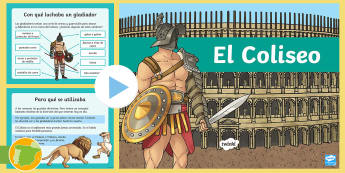 Presentación: El Coliseo - Romanos, Ancient Romans, Arquitectura, Architecture, Spanish history,ancient history, Roman Empire,S