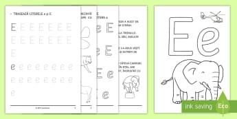 Limba Română Alfabet și Grupuri De Litere Materiale Page 4