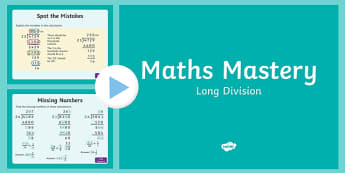 Maths Mastery PowerPoint