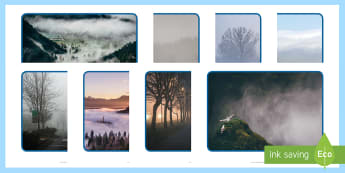 Foggy Photo Pack - weather, understanding of the world, fog, foggy, photo, photograph