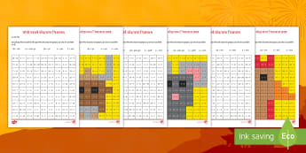 चीनी नववर्ष जोड़/जमा चित्रजाल गतिविधि पत्रक - चीनी नववर्ष,  जोड़, जमा, चित्रजाल, त्यौहा