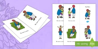 My Mom Emergent Reader - My Mom Emergent Reader, Mother's Day, My Mom, Emergent Reader, Early Reader, First Reader, Beginnin