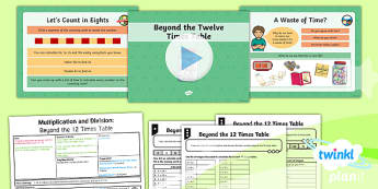 PlanIt Maths Y4 Multiplication and Division Lesson Pack Multiplication and Division Facts (6)