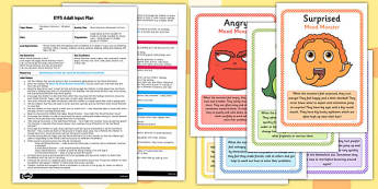 Mood Monsters Movement Activity EYFS Adult Input Plan and Resource Pack