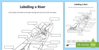 KS2 Rivers Primary Resources, Rivers, KS2 Rivers, KS2 Geography