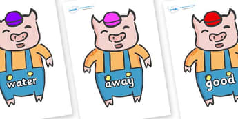 Next 200 Common Words on Little Pig - Next 200 Common Words on  - DfES Letters and Sounds, Letters and Sounds, Letters and sounds words, Common words, 200 common words