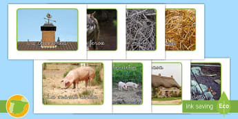 Fotos de exposición: Los tres cerditos - Cuentos, tradicionales, animales, construcción, cerdos, casas