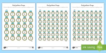 Fünf goldene Ringe Arbeitsblätter - Mathe, Rechnen, Addition, Plus, Zusammenzählen,,German