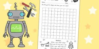 Design Your Own Robot Template - australia, robot, template