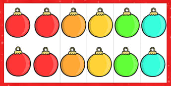 Editable Christmas Baubles -  Christmas, xmas, bauble, editable, tree, advent, nativity, santa, father christmas, Jesus, tree, stocking, present, activity, cracker, angel, snowman, advent , bauble
