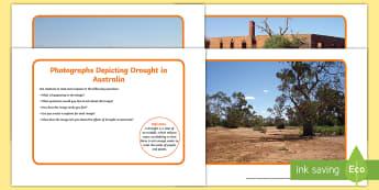Drought in Australia Display Photos - extreme weather, drought, ACSSU096, water works, Australia, weather,