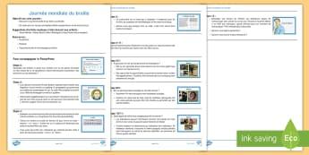 Suggestions de leçon : La journée mondiale du braille - Louis,aveugle, malvoyant, Cycle 2, Cycle 3, code