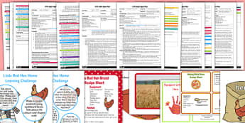 EYFS The Little Red Hen Adult Input Planning and Resource Pack - EYFS, early years planning, harvest, traditional tales