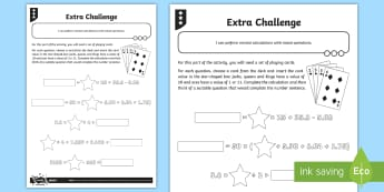 Mental Calculation with Mixed Operations Activity Sheet - Addition, Subtraction, Multiplication and Division, bodmas, bidmas, worksheet, brackets, add, subtra