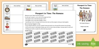 Passport in Time: The Romans Checklist - Gladiators, The Roman Empire, Roman Inventions, Roman Soldiers, centurions, julius caesar, ancient r