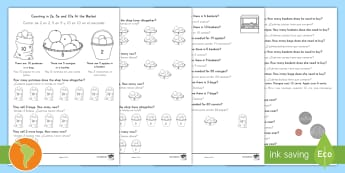 Counting in 2s, 5s and 10s Multiplication Worksheet / Activity Sheet - US English/Spanish (Latin) - Counting in 2s 5s and 10s Multiplication Worksheet - worksheet, mulitplication, multipication, multi