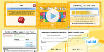 PlanIt Maths Y3 Number and Place Value Lesson Pack Place Value (5)