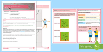 Netball Lesson 8: Backline Passes  - Invasion Game, Winter Games, Team, Teaching Ideas,