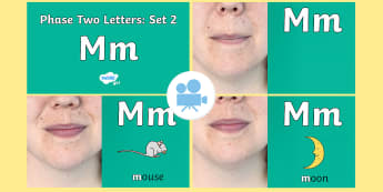 Phase 2 Phonemes : Set 2 'm' Video - Phonics, Letters and Sounds, Grapheme, pronunciation, i,n,m,d,phoneme, Twinkl Go, twinkl go, TwinklGo, twinklgo