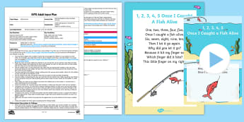 EYFS Reciting Numbers Hide and Seek Activity Adult Input Plan and Resource Pack - Mathematics, Numbers, Counting, Recites, Order, Game, Outdoor, Practical Maths, Early Years Planning