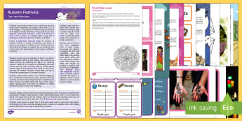 Autumn Festivals Topic Hook Wow Ideas and Resource Pack - EYFS, Early Years, Early Years planning, Key Stage 1, KS1, topic starter, topic introduction, Wow ac