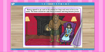 Beauty and the Beast eBook - books, interactive books, read
