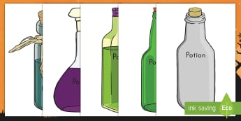 Editable Halloween Potion Bottles Display Posters - Halloween, potions, display posters, editable, bottles