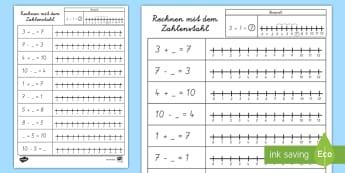 1./2. Klasse Mathematik Primary Resources - Page 6
