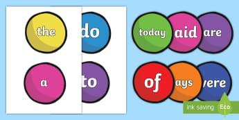 Year 1 Common Exception Words On Juggling Balls Display Posters - Year 1 Common Exception Words On Juggling Balls Display Posters - common exception, words, common ex