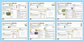 Year 2 Autumn Term 1 SPaG Activity Mats