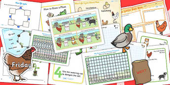 The Little Red Hen Lesson Plan Ideas and Resource Teaching Pack