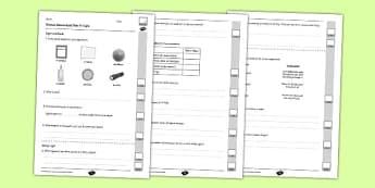 Y3 Light - End of Unit Assessment - UV rays, sunburn, rainbow, spectrum, shadows, dark, reflection, mirror, sun