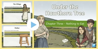 Chapter Three PowerPoint to Support Teaching on nder the Hawthorn Tree - ROI - Resources to Support The Teaching Of Under the Hawthorn Tree, Famine, potato famine, Irish his