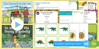 Childminder In and Out Concept EYFS Resource Pack - child minder, childminding, in, out, early concepts