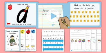 Tasmania Cursive Letter Formation Resource Pack - Handwriting, Writing, Handwriting, Activity Sheets, Activity Booklet