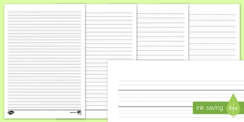 Differentiated Handwriting Guidelines - guides, write, writing