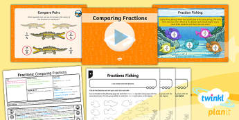 PlanIt Maths Y3 Fractions Lesson Pack Compare and Order Fractions (1)