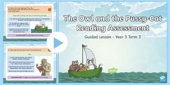 Year 3 Reading Assessment Poetry Term 3 Guided Lesson PowerPoint - Year 3, Year 4 & Year 5 Reading Assessment Guided Lesson PowerPoints, KS2, reading, read, assessment