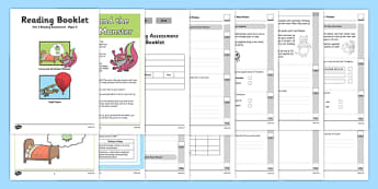 Year 2 Reading Assessment Term 1 - year 2, reading, assessment, term 1, read
