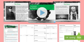 Introductory GCSE Lesson Pack To Support Teaching On 'Kamikaze' by Beatrice Garland  - kamikaze, power and conflict, poetry anthology, GCSE poetry, AQA poetry, Beatrice Garland, poetry re
