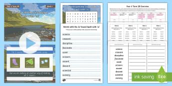 Year 4 Term 2B Week 1 Spelling Pack - Spelling Lists, Word Lists, Spring Term, List Pack, SPaG