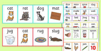 Rhyming Odd One Out Strips-rhyming, rhyme, odd one out, games, puzzles, rhyming games, rhyming puzzles, odd one out games, odd one out puzzles